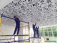 Монтаж декоративных потолков