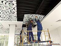 Дизайн потолока - монтаж