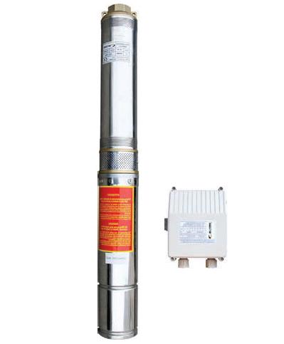 Скважинный насос OPTIMA 4SDm6/10 1.5 кВт с повышенной устойчивостью к песку (кабель питания 50 метров)