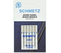 """Иглы Schmetz """"Jeans"""" №110 для джинсовых и плотных тканей"""