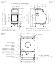 Каминная топка SPARTHERM Nova E H2O, фото 3