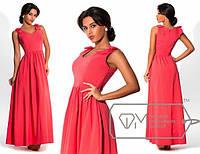 Длинное платье лю890