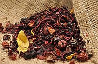 """Чай фруктовый """"Клубничный коктейль"""" с плодами и ароматом клубники"""