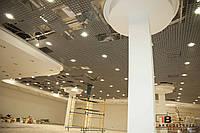 Подвесной потолок грильято - монтаж