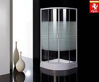 Душевая кабинка Eger TISZA 599-021-A стекло Frizek с поддоном, 900х900х2000 мм