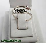 Кольцо  женское серебряное Стрела, фото 3