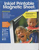 Магнитная глянцевая фотобумага, А4(217x278), 610 г/м²