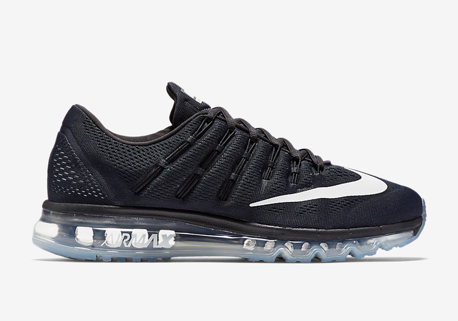 Кроссовки Nike Air Max 2016 Black White Silver