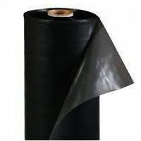 Пленка черная 90 мкм для строительства 100 м