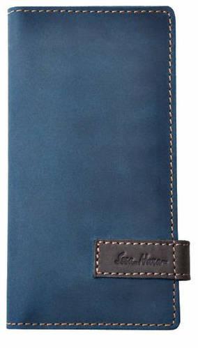 Выразительный кожаный клатч от ISSA HARA CL3 (33-32) light blue