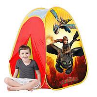 Детская игровая палатка Как приручить дракона John JN76144, лицензия