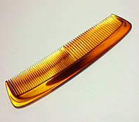 РАСЧЕСКА плоская для волос карамельная 13 см