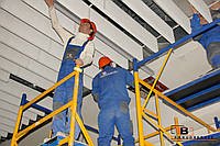 Реечный потолок расценки - монтаж