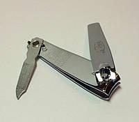 КУСАЧКИ (клипсер) для ногтей с пилочкой маленькие хромированные