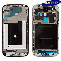 Рамка крепления дисплея для Samsung I9505 Galaxy S4, оригинал (черная)