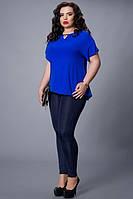 Женская блуза из креп-шифона , 50,52,54,56,58