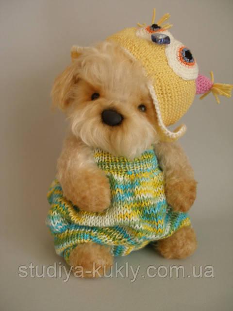 Студия куклы начинает набор на мастер-класс «Вязаный мишка в стиле Тедди» с Оксаной Горевой!