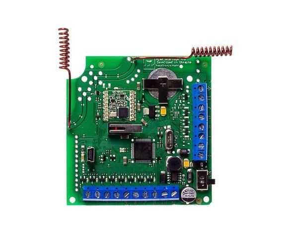 Приемник беспроводных датчиков Ajax ocBridge Plus v 15 - Контроль и Безопасность в Днепре