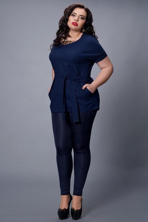 Женская блуза-туника больших размеров, 48-50