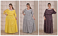Летнее платье р. 62-74