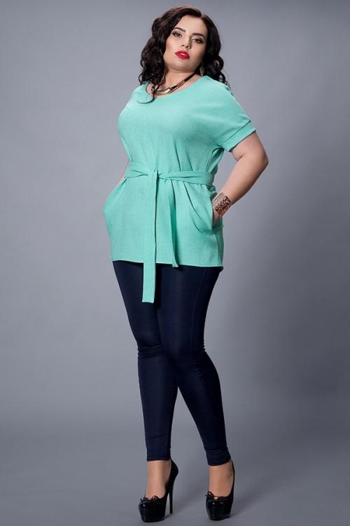 Женская блуза-туника больших размеров, 48-50. 52-54