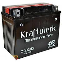 Аккумулятор мото Kraftwerk YTX12-BS 10A/h 160A