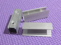 Клипса крепления неоновой трубки, алюминиевая, YY=FF
