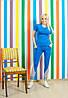 Спортивный костюм  голубой