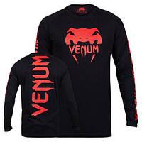 Реглан Venum Pro Team 2.0 Long Sleeve T-Shirt Red Devil