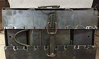 Мангал-чемодан с подставками (10 шампуров), толщина 3мм, разборной, компактный