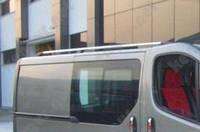 Багажник на крышу автомобиля Trafic Renault, металлические концевики