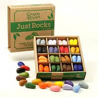 Карандаши - камушки ТМ Crayon Rocks (64 штуки,16 цветов)