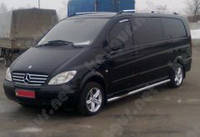 Пороги защитные Mercedes-Benz Vito, труба
