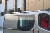 Багажник на автомобиль Opel Vivaro, металлические концевики