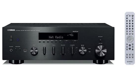 Сетевой аудиопроигрыватель Yamaha R-N602 Black