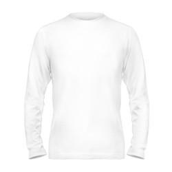 Чоловіча двошарова футболка з довгим рукавом (лонгслив) розмір 4XL