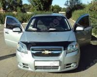 Дефлектор капота на автомобиль Chevrolet Aveo