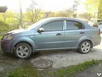 Дефлекторы дверей Chevrolet Aveo