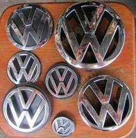 Значки эмблемы на Volkswagen