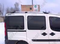 Багажник на крышу автомобиля Doblo Fiat, пластиковые концевики
