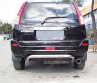 Защита заднего бампера Nissan X-Trail, U образная