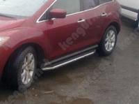 Пороги на авто Mazda CX-7, площадка