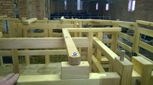 Ферма. Станция для доения коз и овец. 6
