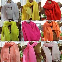 Шифоновый шарф женский