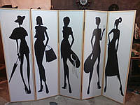 Ширма для салона красоты 1,8*2,5м