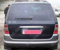 Хром накладка на крышку багажника Mercedes-Benz ML-Class