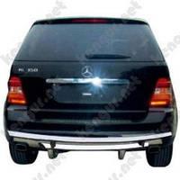 Защита заднего бампера для Mercedes-Benz ML-Class