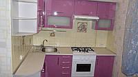 "Кухня ""Фиолет"" Металлик глянец"