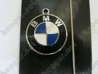 """Брелок для ключей """"BMW"""" (синий, на тросике)"""