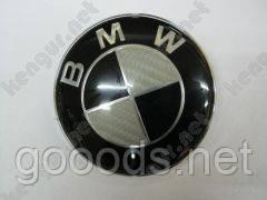 Эмблема BMW (карбон, д=80мм)
